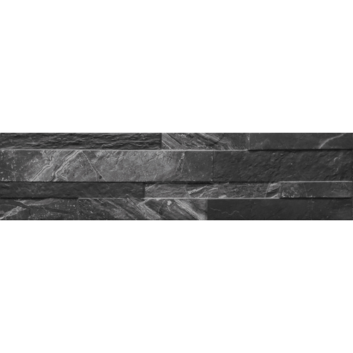Wandtegel Gioa zwart 15x61cm
