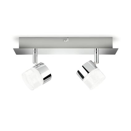 Philips spot LED Float metaal 2x5W