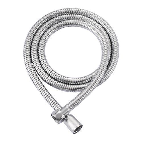 Flexible de douche AquaVive acier inoxydable chrome 175cm