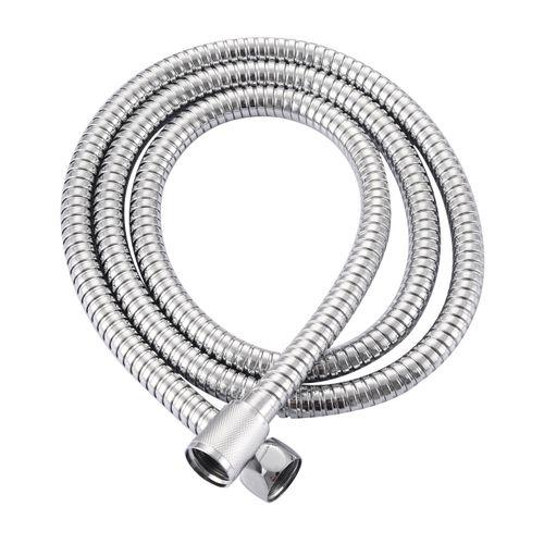 Flexible de douche AquaVive acier inoxydable chrome 150-200cm