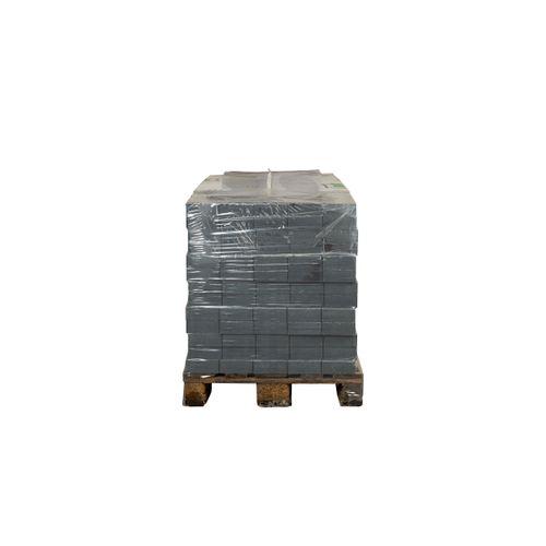 Coeck kassei in-line arduinblauw getrommeld 15x15x6cm 520 stuks + palet