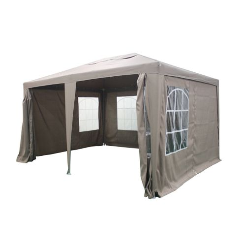 Tonnelle Central Park Party Swing 3x4m taupe - 2020 -