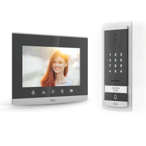 """Vidéophone Extel Code 7"""" 720p gris"""