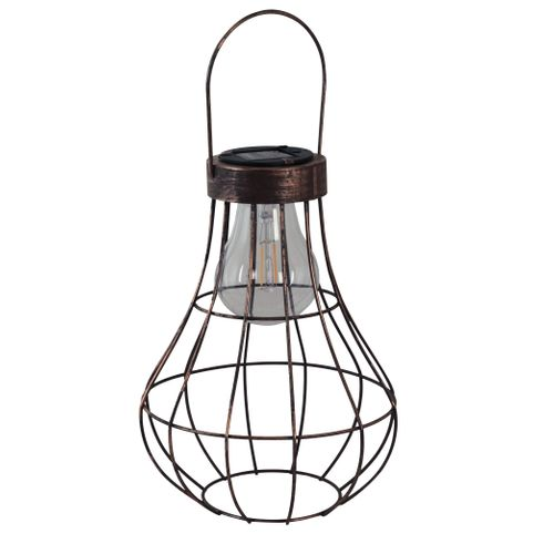 Luxform solar hanglamp Manchester