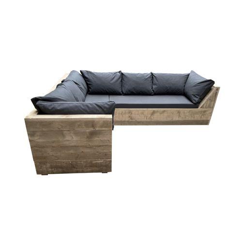 Fauteuil lounge Wood4you Six bois de construction 200x210x70cm
