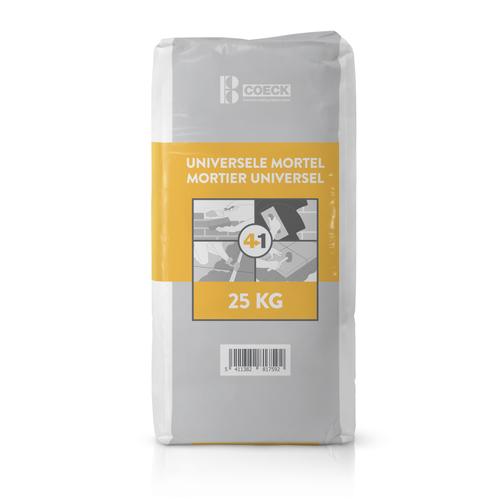 Coeck universele 4-in-1-mortel 25 kg x 42 zakken + pallet 3004837