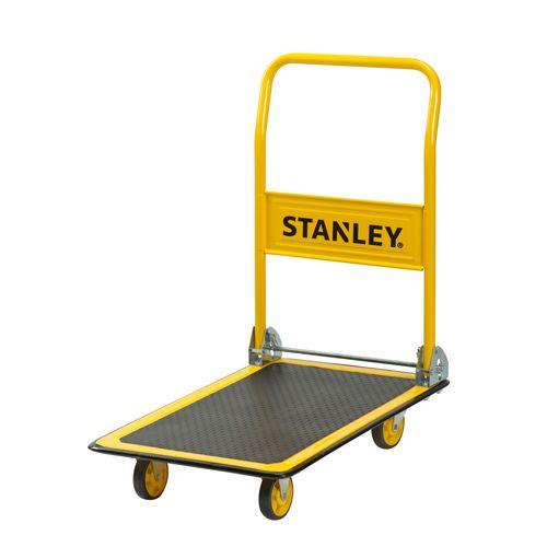 Stanley plateauwagen PC527 150kg inklapbaar geel