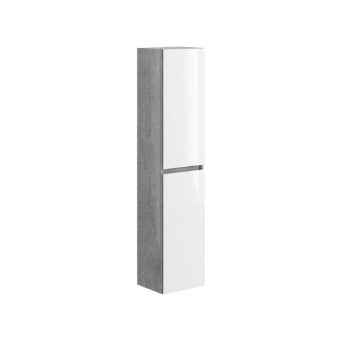 T-Bath kolomkast Milenio 140cm beton/wit