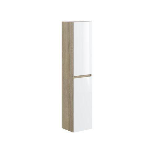 Colonne T-Bath Milenio chêne/blanc 140cm