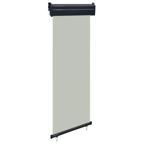 VidaXL balkonscherm 60x250cm grijs