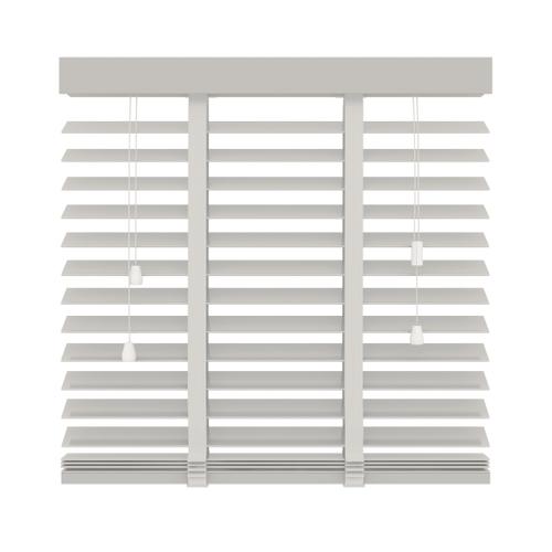 Decosol 944 horizontale jaloezie hout wit 140x180cm