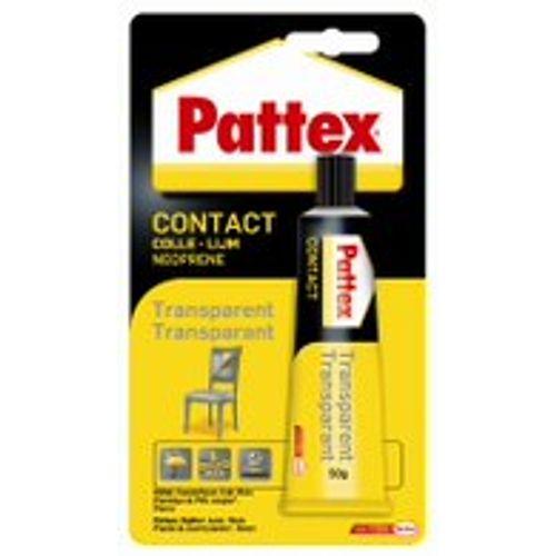 Colle de contact Pattex Transparent 50gr
