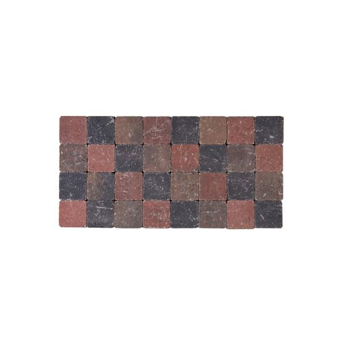Coeck kassei herfstkleur getrommeld 10x10x6cm