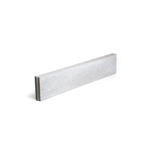 Bordure droite Coeck béton gris 100 x 20 x 6 cm