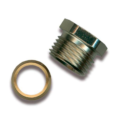 """Sanistal aansluitkoppeling 1/2""""x15mm messing"""