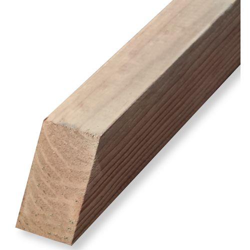 Tuteur bois brun 150 x 4,5 x 4,5 cm