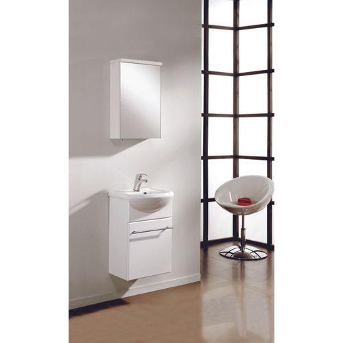 Meuble de salle de bain Royo Infinity blanc brillant 45cm