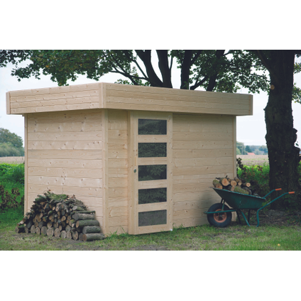 Solid tuinhuis Oslo hout 6,16m² 302x204cm