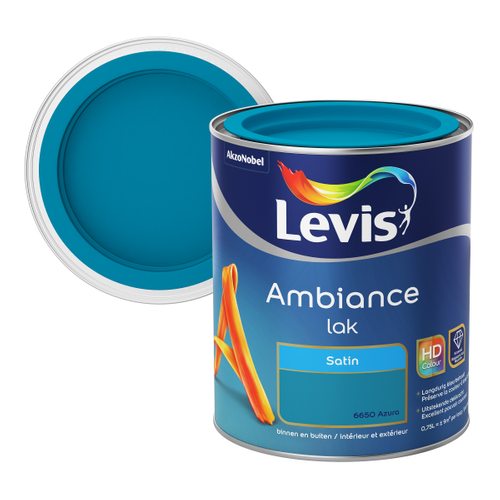 Levis lak Ambiance azura satijn 750ml