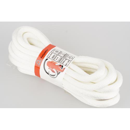 Mamutec touw polyester wit 12 mm x 5 m