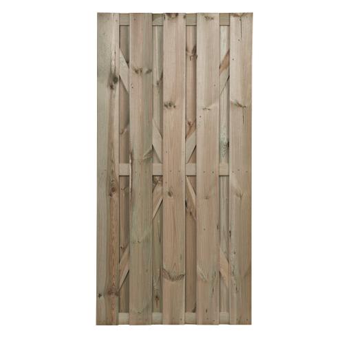 Tuinpoort Robusto grenen 90x180cm