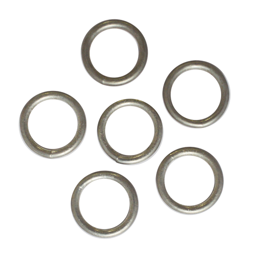 Sencys gesloten ring staal Ø 3 x 23 mm - 6 stuks