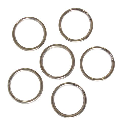 Anneau brisé Sencys acier Ø 1,2 x 17 mm - 6 pcs