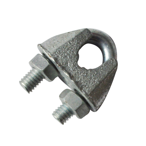Sencys kabelklem beugel staal grijs Ø 8 mm - 2 stuks