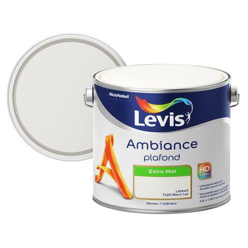 Levis plafondverf Ambiance Plafond leliewit extra mat 2,5L