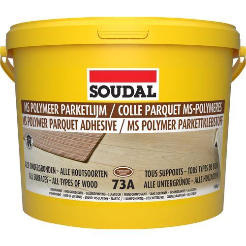 Colle parquet Soudal polymères 15kg
