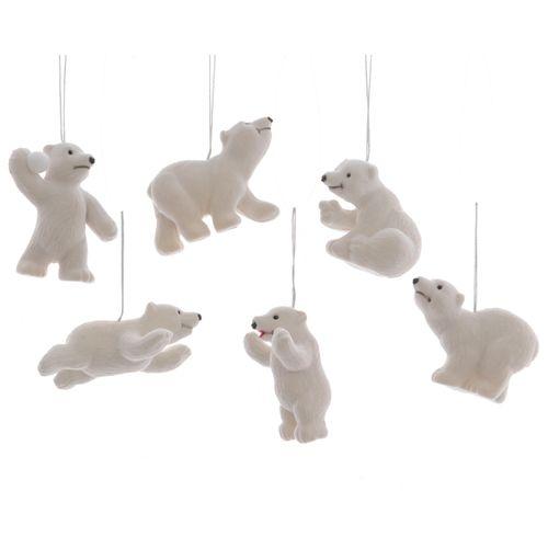 Pendentifs ours polaire 1 pièce