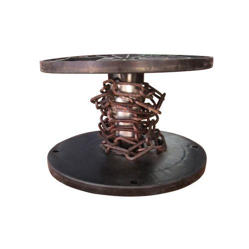 Sencys decoratieve ketting staal bruin 3 mm x 1 m