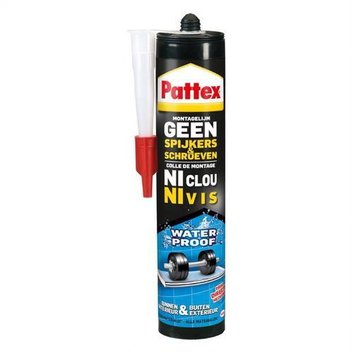 Pattex Geen Spijkers & Schroeven Montagelijm Waterproof 450gr