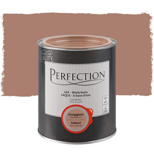 Perfection lak 'Ultra Dekkend' kalahari bruin hoogglans 750ml