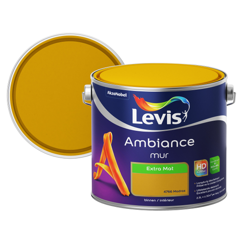 Levis muurverf Ambiance madras extra mat 2,5L
