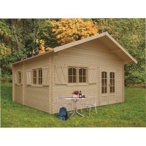 Solid tuinhuis Weekend hout 2581m² 508x508cm