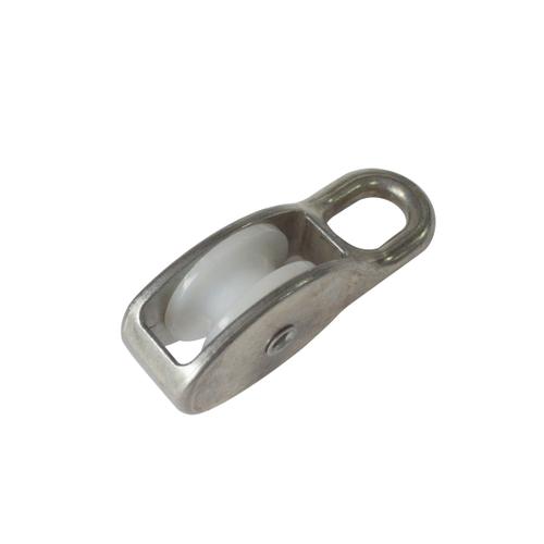 Sencys katrol staal grijs Ø 8 mm x 30 mm