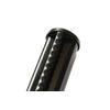 Poteau profilé Giardino noir 48 mm x 175 cm