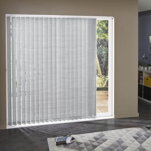 Lamelles Madeco rayé blanc gris 8,9 x 280 cm – 5 pcs