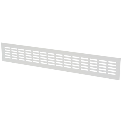 Sencys Ventilatiestrip Alu Wit 50x8cm