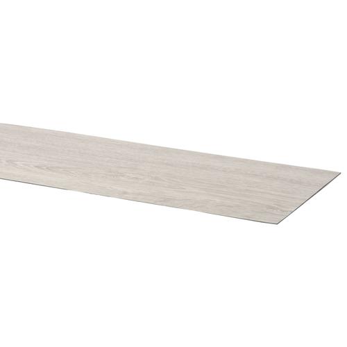 CanDo traptrede vinyl zilvergrijs eiken 100x30cm