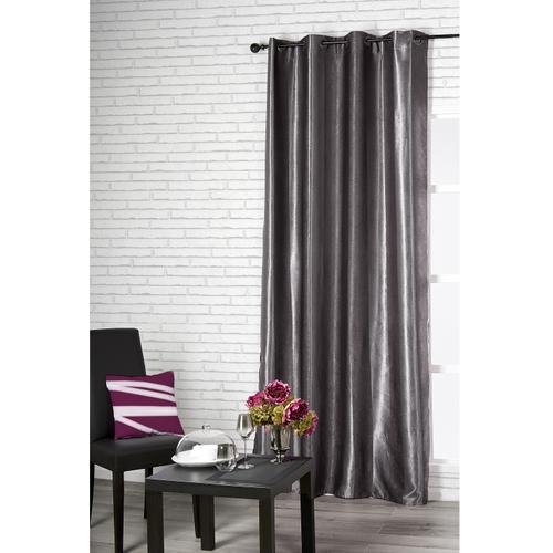 Verduisterend gordijn Cosy polyester grijs 140 cm x 260 cm