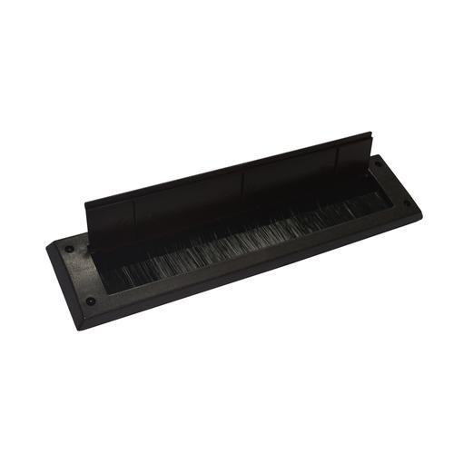 Sencys brievenbusplaat ABS bruin 340 x 80 mm