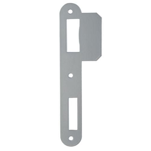 Gâche Sencys pour serrures 'M210/M510/M730' acier peint gris 1 mm