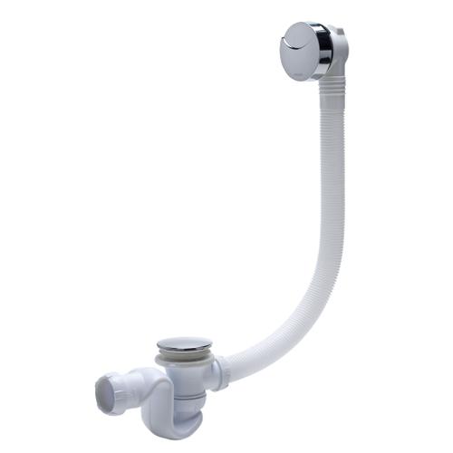 Vidage de baignoire Wirquin 'Elton' chrome avec câble