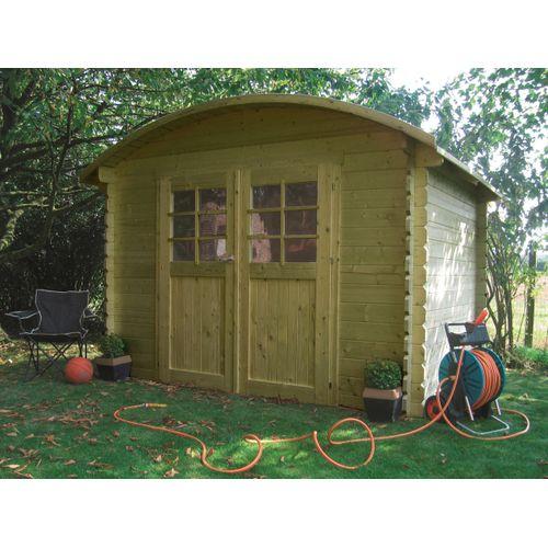 Solid tuinhuis Dainville I geïmpregneerd hout 298x238cm
