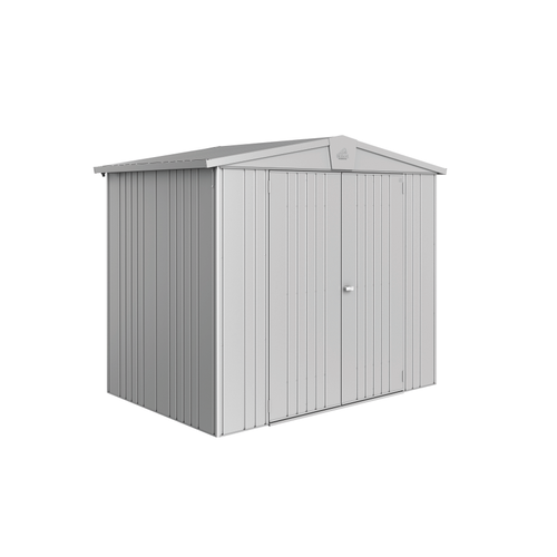 Biohort tuinhuis 'Europa 3' staal zilver metallic 3,33 m²