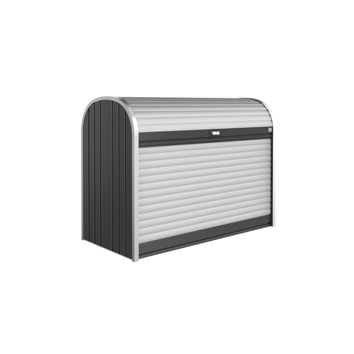 Biohort opbergbox Storemax 160 donkergrijs metallic 163x120cm