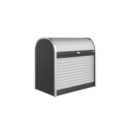 Biohort opbergbox Storemax 120 donkergrijs metallic 117x109cm