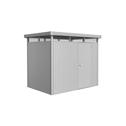Biohort tuinhuis 'HighLine H2' staal zilver metallic 4,33 m²